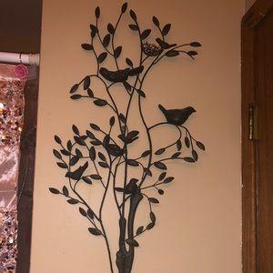 Tree with Birds Wall Decor